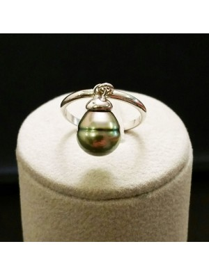 Baroque Pearl Ring - Metal&Gemmes