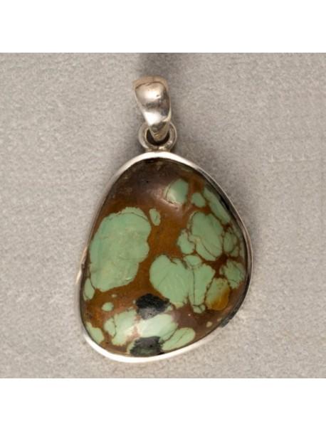 Turquoise Pendant (no chains) - METAL&GEMMES