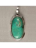 Pendentif Turquoise (sans chaînes)