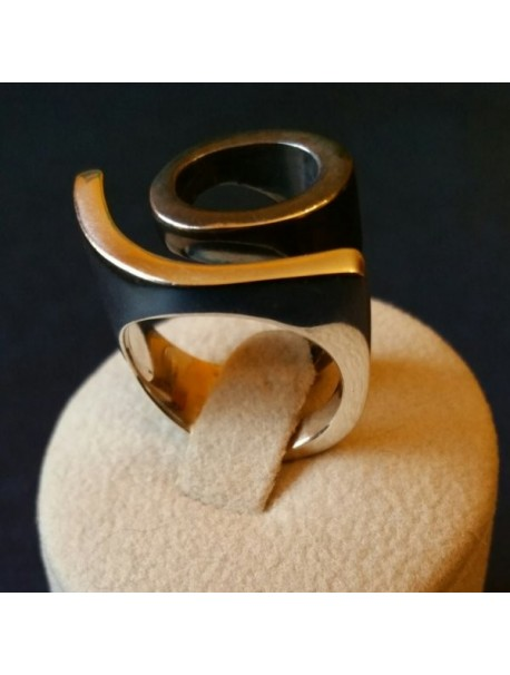 Vesure Sterling Silver Ring  METAL&SENS