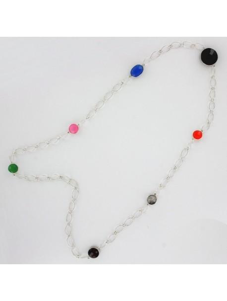 Collier Gemme les couleurs -  7 pierres