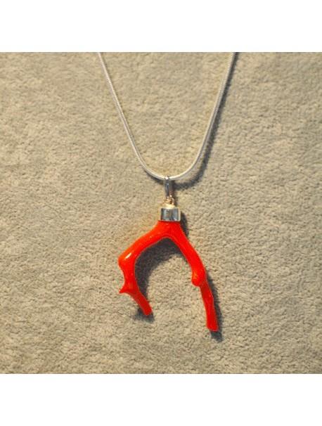Collier branche de corail Metal&Gemmes