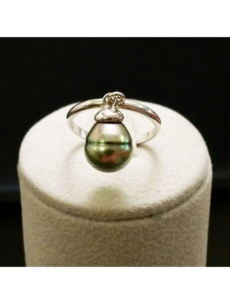 Bague Perle Baroque - Metal&Gemmes