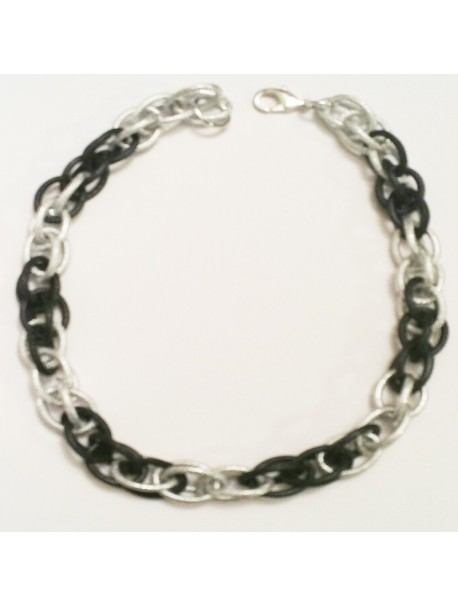 Winter mesh necklace METAL&SENS