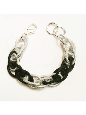 Winter mesh bracelet  METAL&SENS