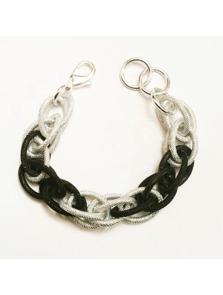 Bracelet Maille d'hiver METAL&SENS