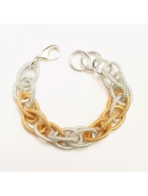 Summer mesh bracelet METAL&SENS