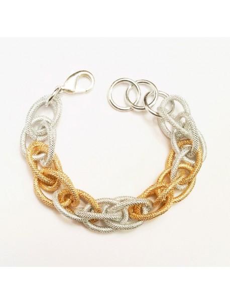 Bracelet Maille d'été METAL&SENS