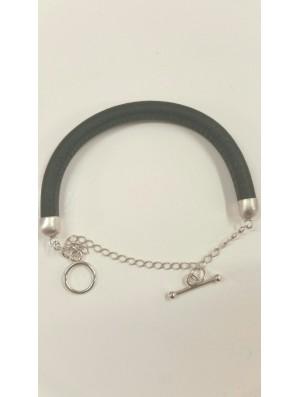 Bracelet tout cuir -...