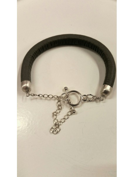 "Bracelet tout cuir - Collection ""METAL&CUIR"""