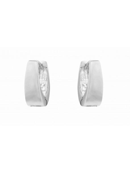 Boucles d'oreilles Ovales  METAL&SENS