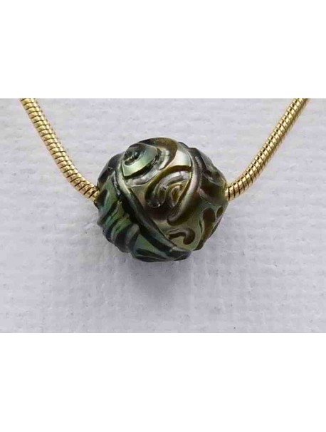 Collier Perle Sculptée
