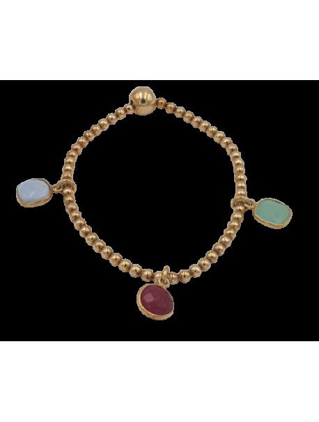Bracelet Doré élastique