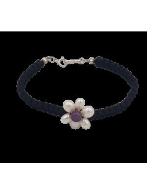 Bracelet Tissé Perles