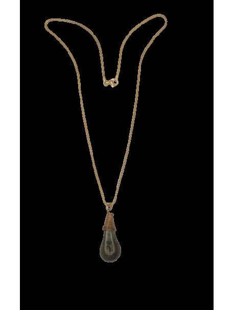 Collier sur Chaîne collection METAL&VERRE