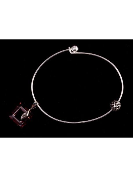 Bracelet boule dévissable METAL&SENS